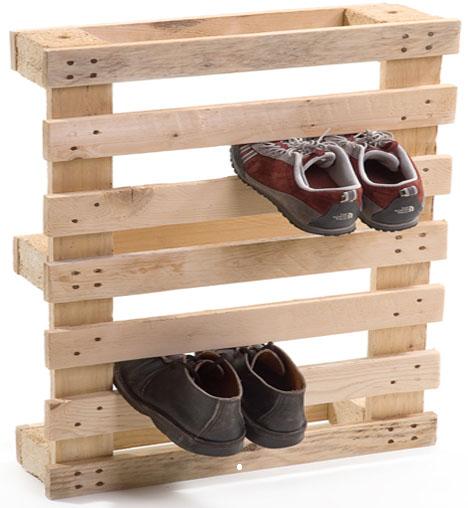 wooden shoe rack ideas